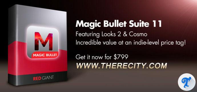 红巨星视觉特效插件包 Magic Bullet Suite